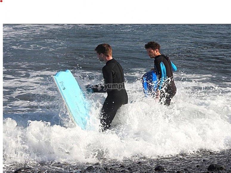 Bodyboard libre