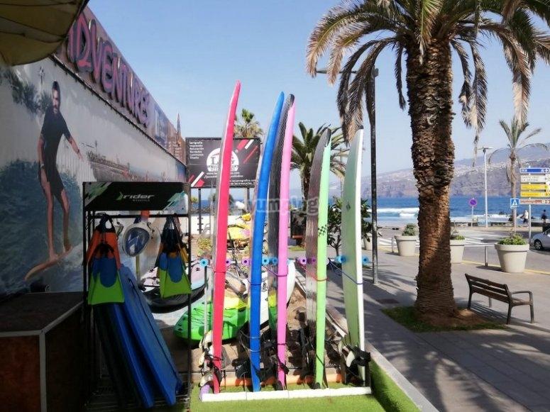在Orotava -999的冲浪板-出租Orotava的冲浪板