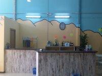 zona de bar para los padres