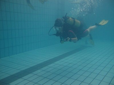 Diving baptism in Getafe 1 or 2 people 2 hours
