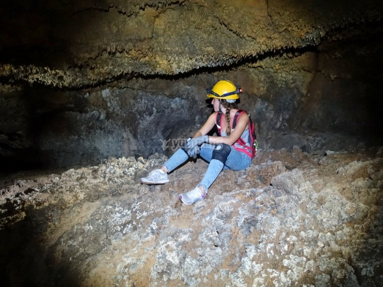Caving in San Marcos