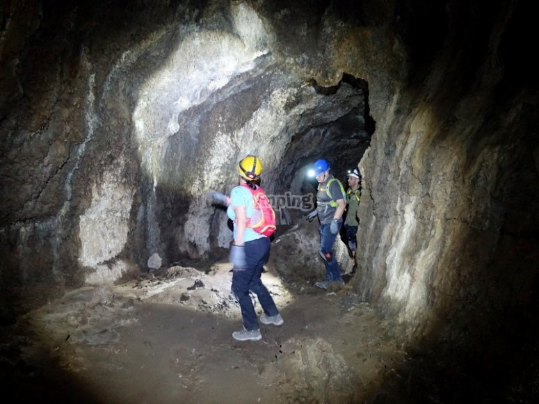 Family caving route in San Marcos