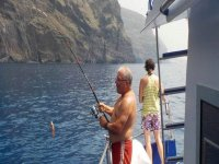 Recreational fishing in the island of Tenerife