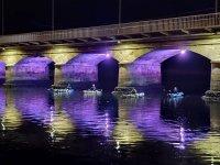Travesía nocturna por el río Anllóns