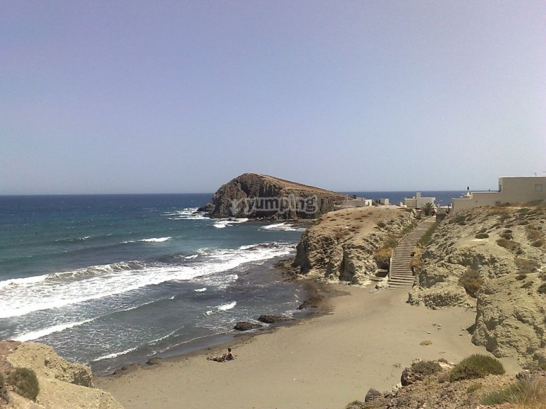 阿尔梅里亚海滩乘船