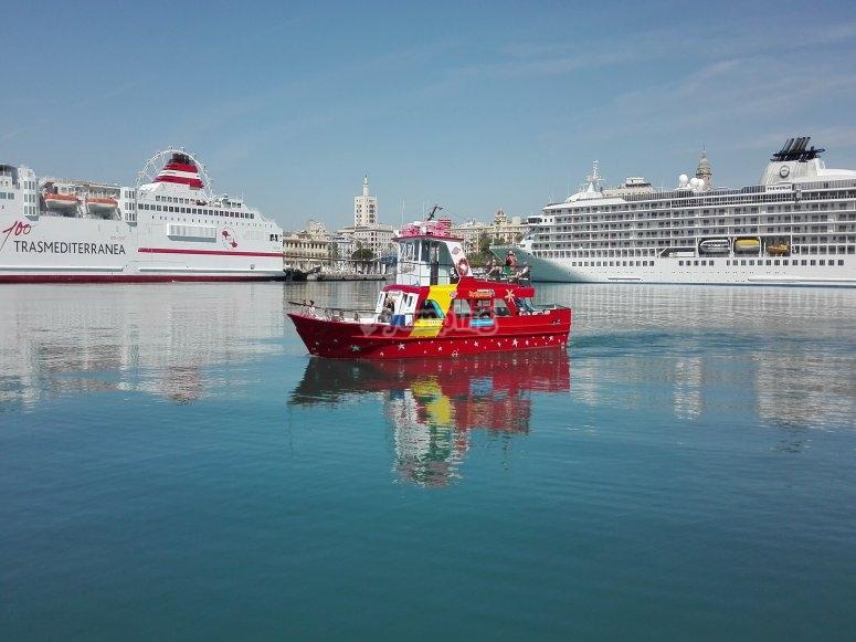 十人游船Roquetas