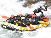 Descenso de rafting en Las Chorreras 2 horas