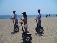 Segway ruta playa