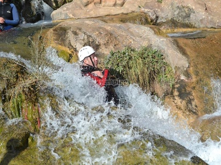 Tobogán acuático de Las Chorreras