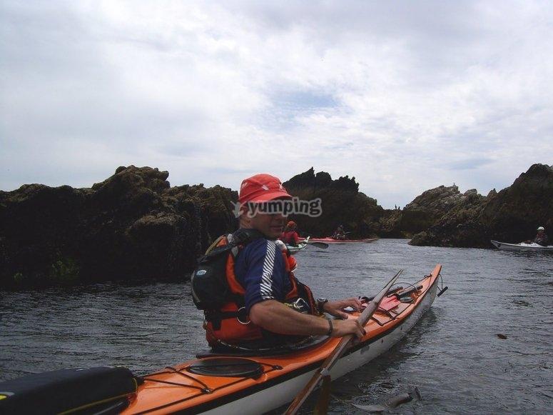 Viaje en kayak por la Costa Da Morte