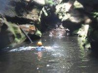 Zona de paso a nado