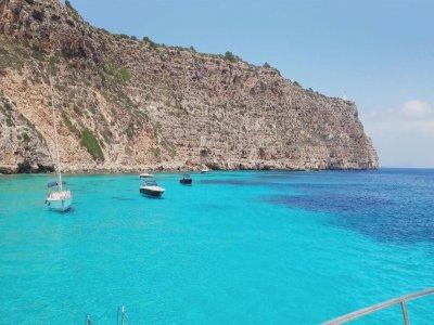 Gita in barca da Ibiza a Formentera pasto per bambini 4h