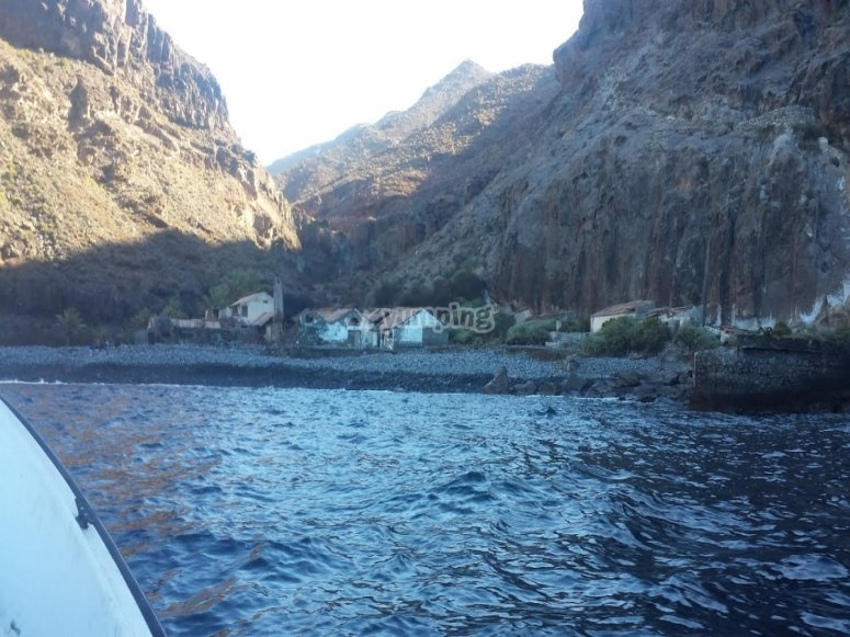 Visita en kayak playa La Cantera