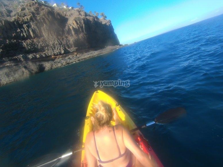 出租圣地亚哥-普拉亚两人皮划艇