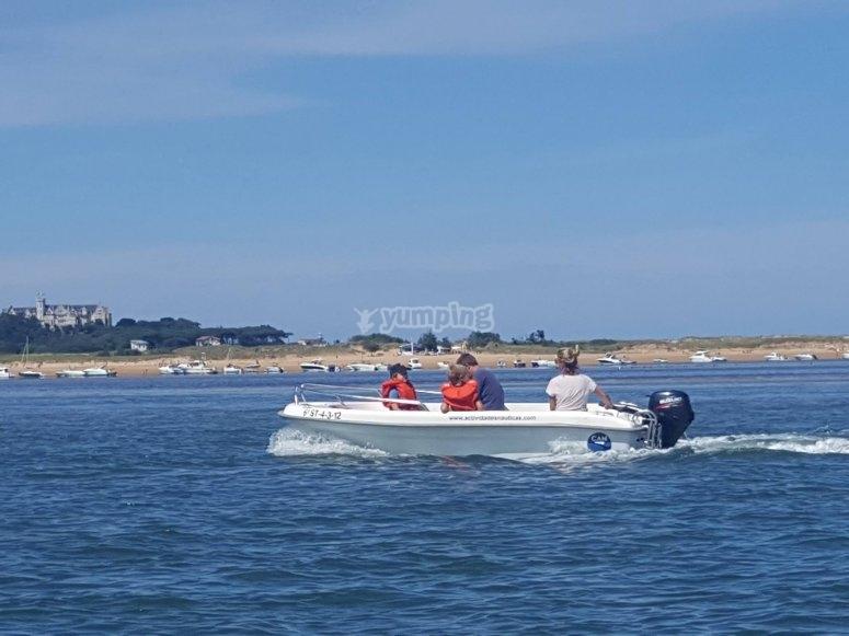 Planea tu ruta por la bahía de Santander