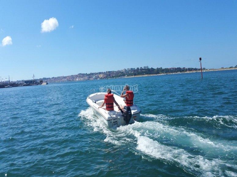 Los placeres de la navegación por Santander