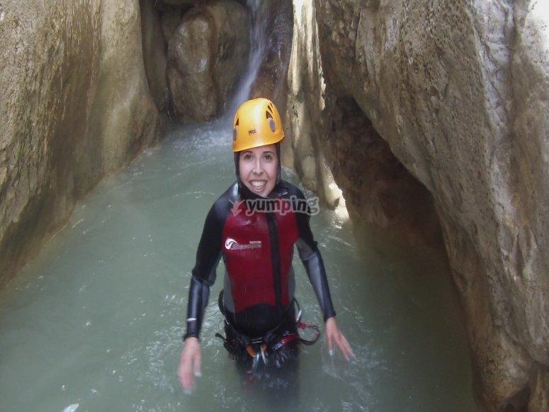 在贝尔格达(Berguedà)的峡谷日