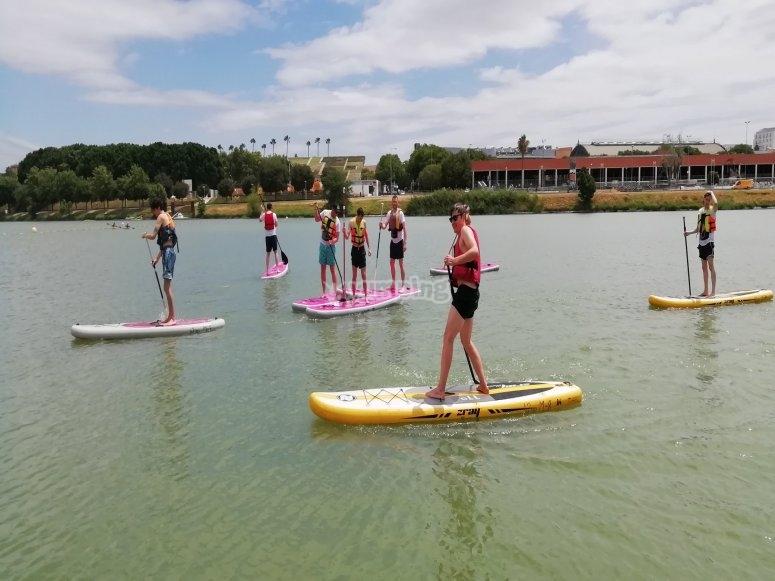 Paddle surf por aguas sevillanas