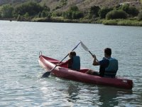 Canoeing on the Júcar River