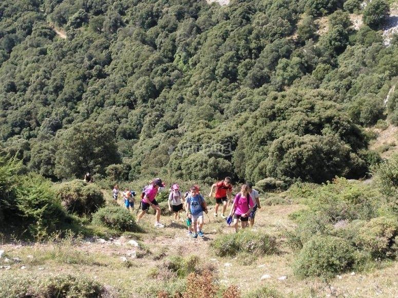 Excursión por el valle de Ollo