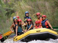 Rafting children