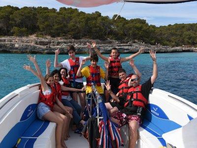 Vuelo parasailing Vip Fly en Mallorca