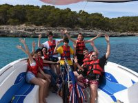 Parasailing for children in Mallorca
