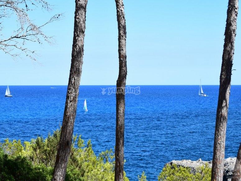 Navegar en barco desde Cala d'Or