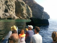 Sailing among the cliffs of Almeria