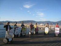 Puerto de Vigo en Segway