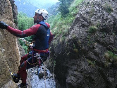 Advanced Canyoning in Gorga de Núria 6 hours