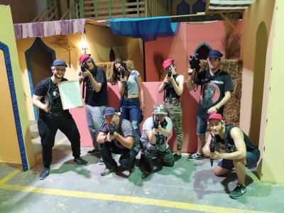 Laser tag battle in Alvedro 2 hours