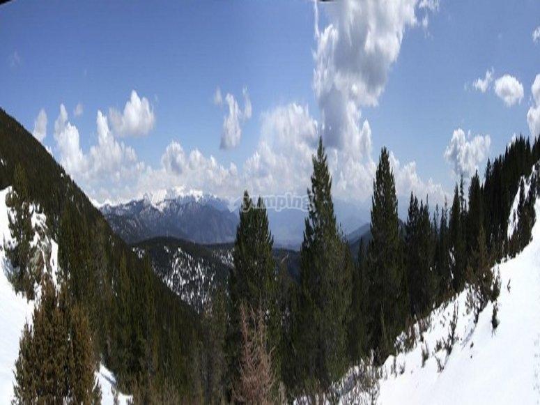 Sierra de Sant Joan de l'Erm nevada