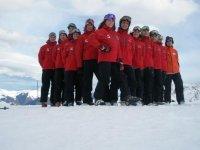 divesion儿童滑雪和滑雪监视器