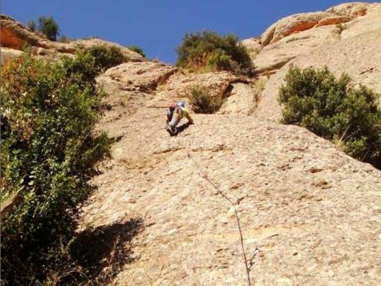 Climbing in Cuenca