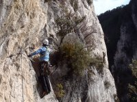 Escalada en la Serranía de Cuenca
