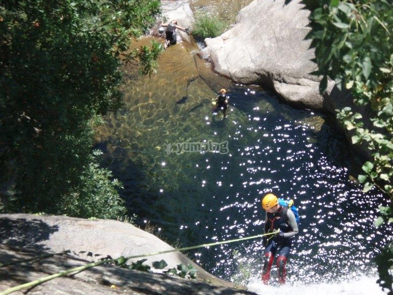 Descente rapide à Valle del Jerte