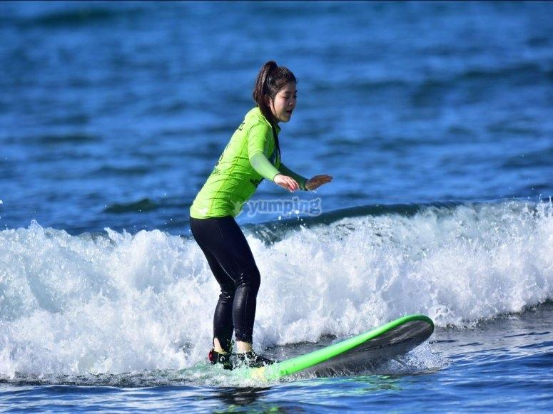 Curso de surf Maspalomas