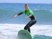 Clase de surf en Maspalomas