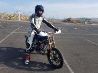 Curso conducción moto en Maspalomas 1 hora