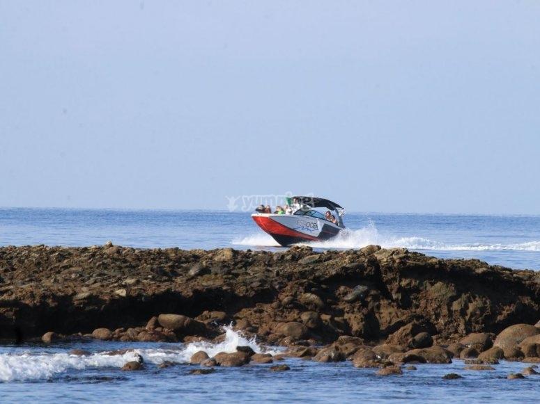 Travesía en barco Playa del Inglés