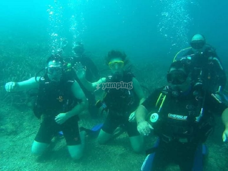 Immersion in the depths of Mazarrón