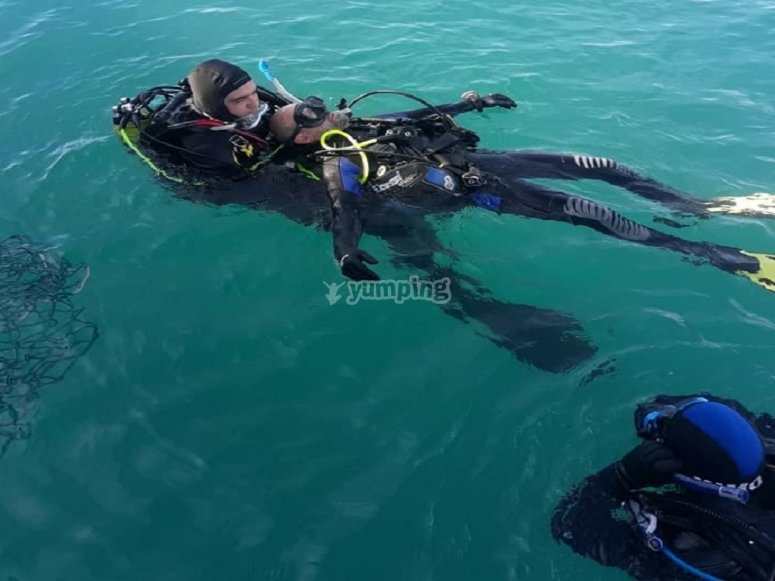 CaboTiñoso潜水课程