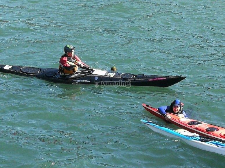 Cuando vuelva el kayak en Ézaro