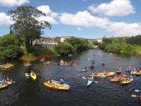 Jornada de kayak en Galicia