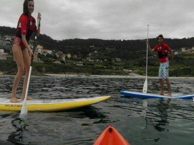Paddle Surf Tour by Ézaro Waterfall 2h