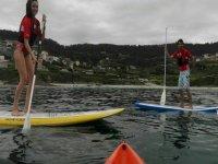 Tour de Paddle Surf por la cascada de Ézaro de 2h