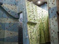 Zona cubierta para escalar
