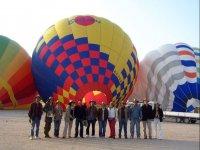 Day of balloon flight