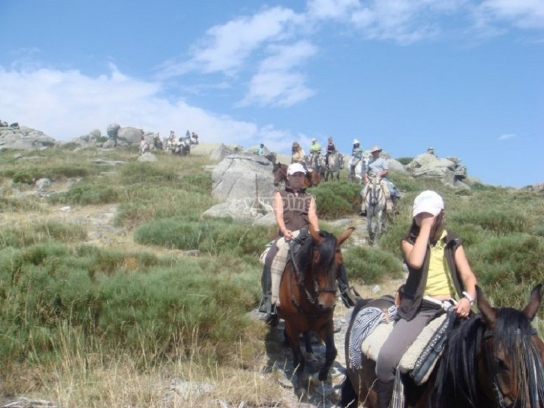 Tour a caballo por Gredos